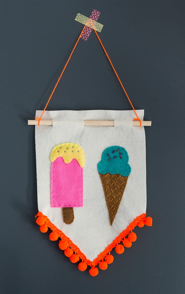 Ice-cream craft kit - Free Range Living
