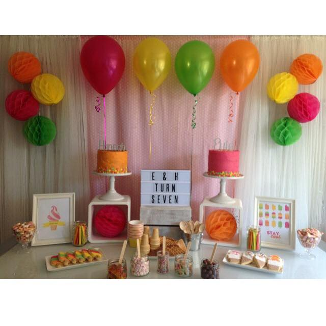 Popsicle Party - Styling and desserts by Savvy Cakes by Lena