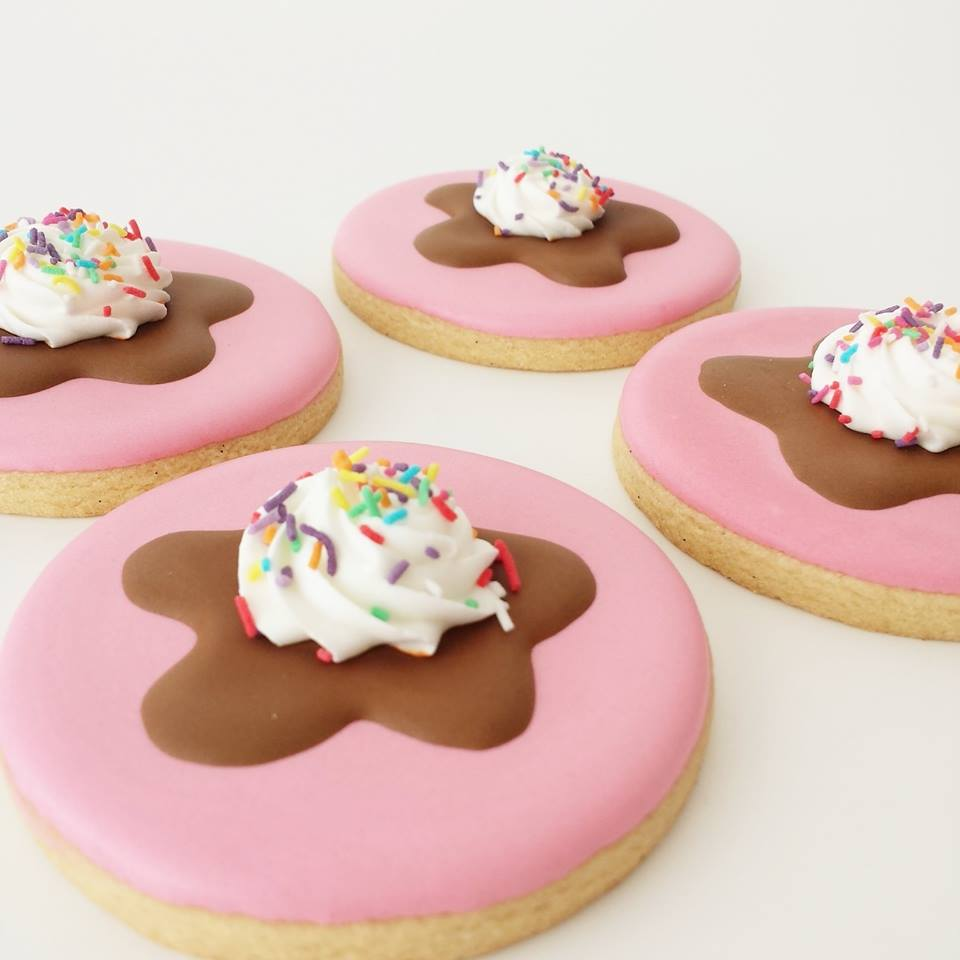 Ice-cream cookies - Frosted by Nicci (Melbourne)