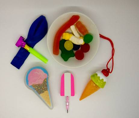 Ice-cream party favor bag - Small Favours