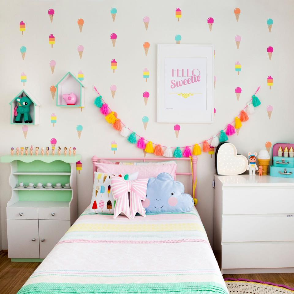 Ice cream popsicle wall decalls - Kid Candy