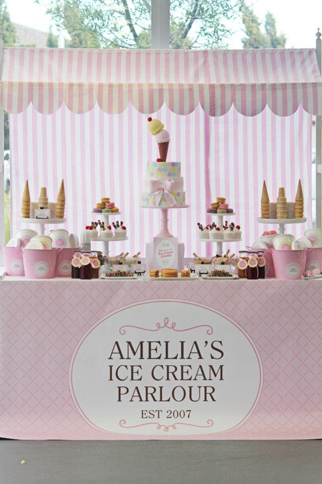 Ice cream party - Red Wagon Events
