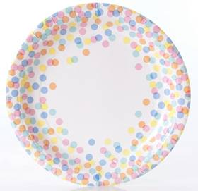 Confetti plates - Love The Occasion