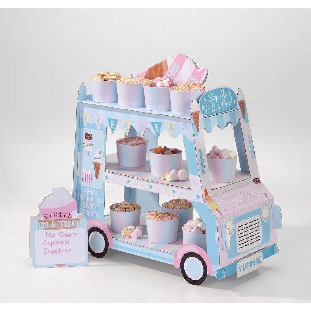 Ice cream van cupcake stand - Confectionately Yours