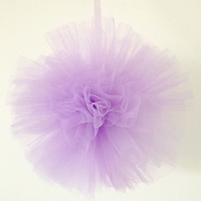 Lilac tulle pom - Ruby Rabbit Partyware