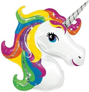 Unicorn balloon - Ruby Rabbit Partyware
