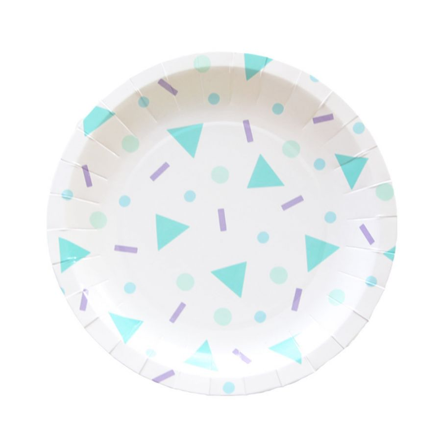 Confetti pop paper plates - Favor Lane