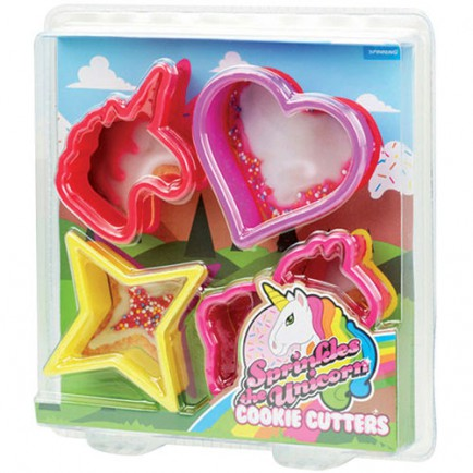 Unicorn cookie cutter set - Lark