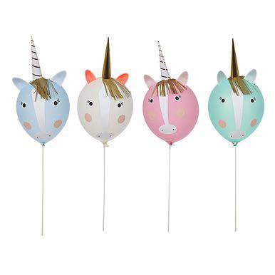Unicorn balloon kit - Favor Lane