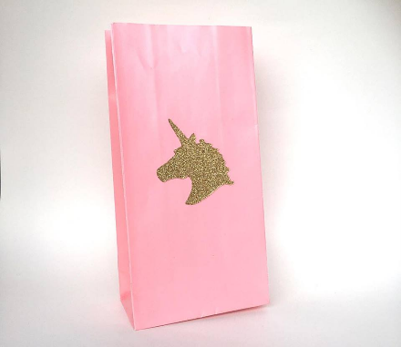 Unicorn stickers and favour bags - Sugarlicious Parties