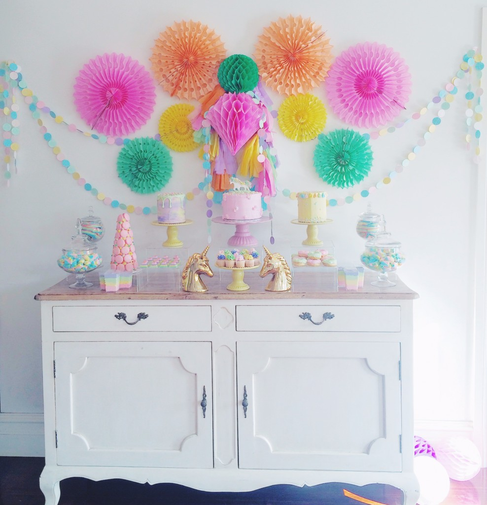 Unicorn party - Stylish Little Parties (Melbourne)