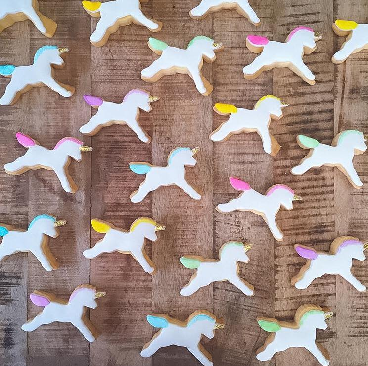 Unicorn cookies - Niknaks Sweetest Treats