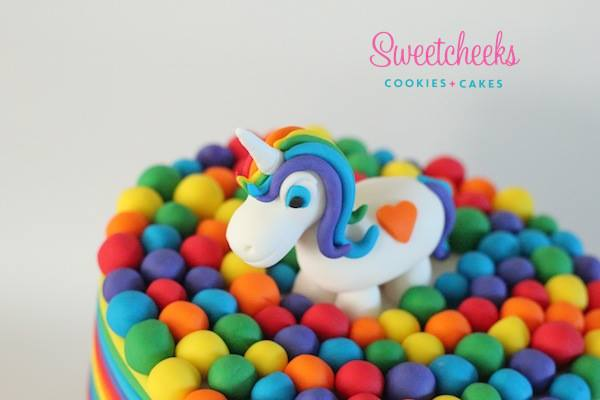 Unicorn cake - Sweetcheeks Cookies and Cake