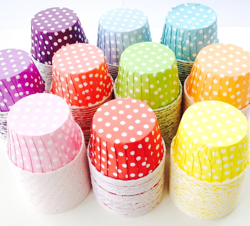Baking cups - all colours hi res