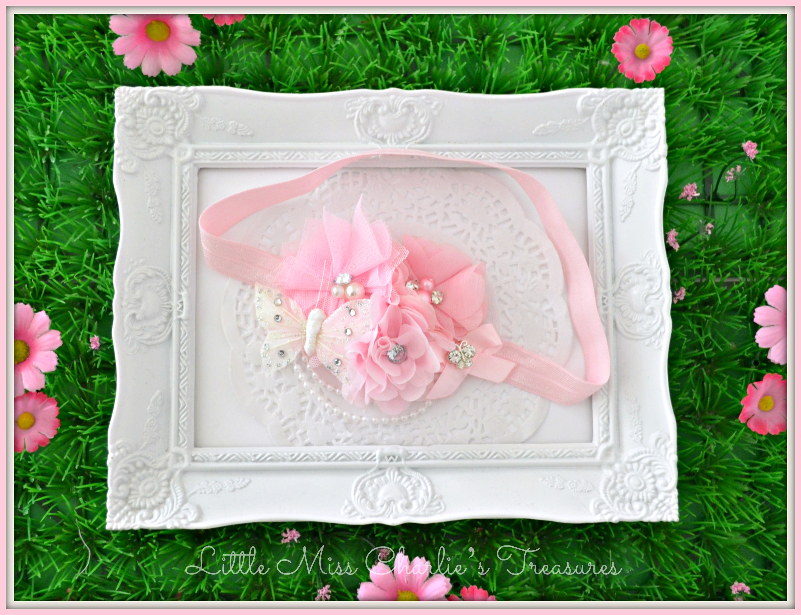 2 May Fairy Garden Headband