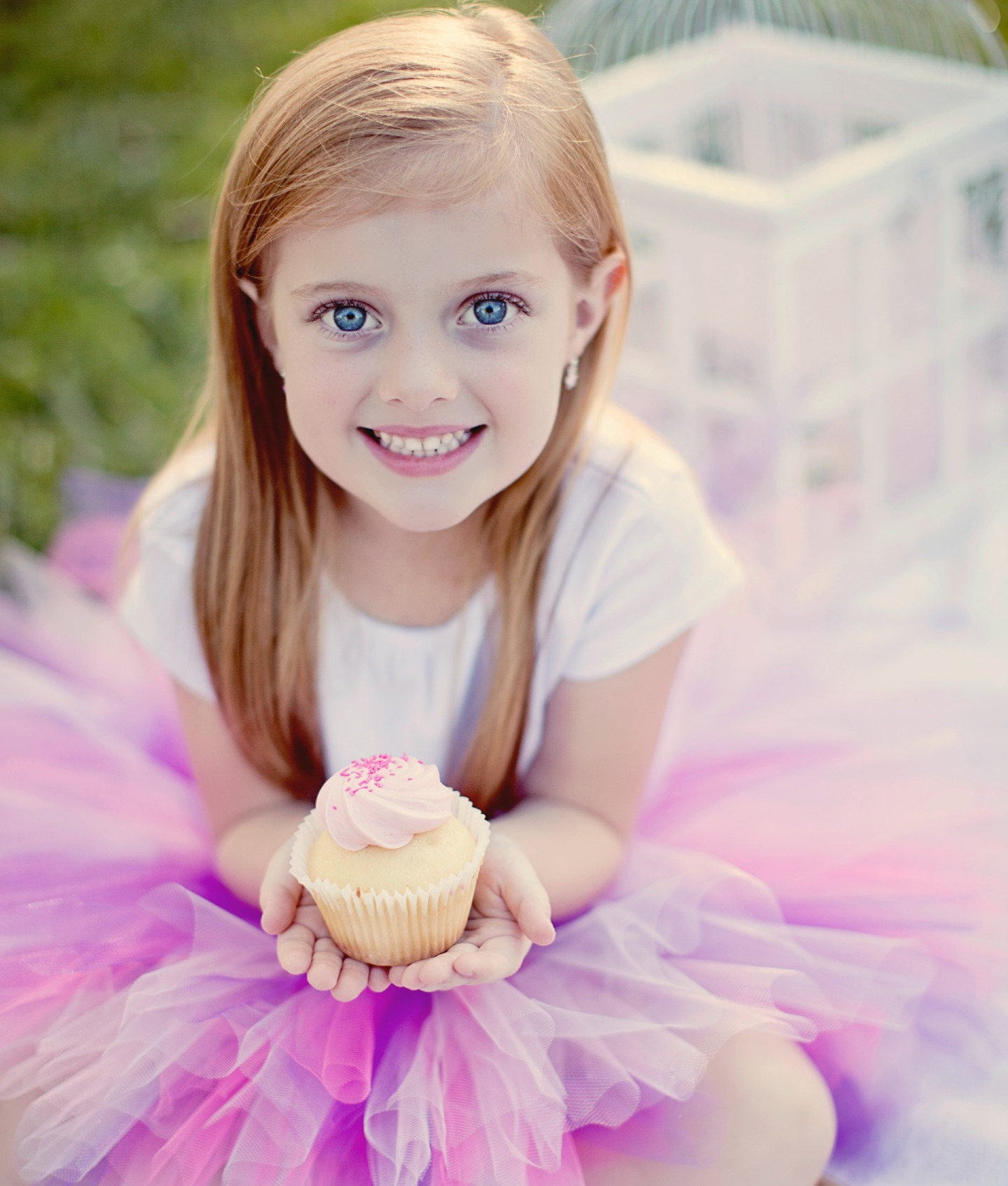 Classical length Cupcake dream tutu with custom size NB - 8