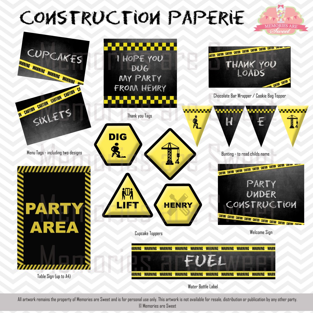 Memories are Sweet - Construction Paperie