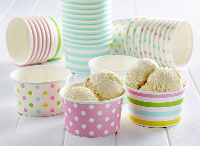 ice cream cups