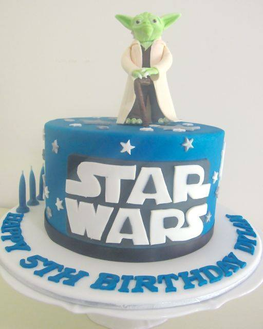 Star Wars cake - The Iced Biscuit
