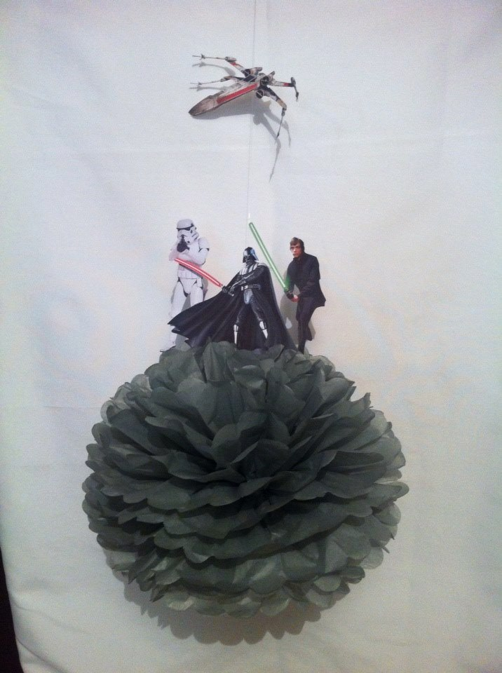 Star Wars pom pom - Theme It Party Boxes