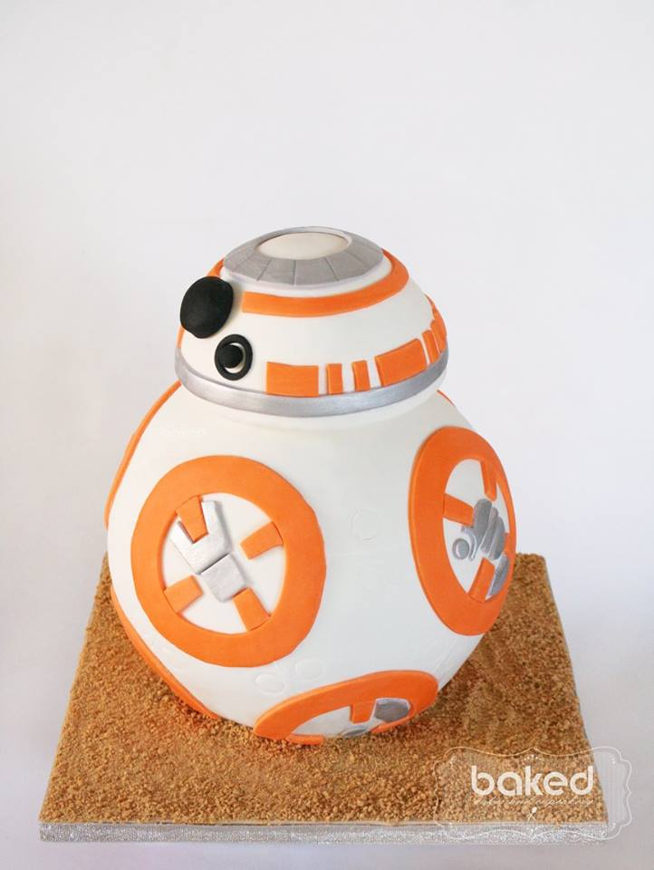 Star Wars Cake -  Baked Cakes and Cupcakery