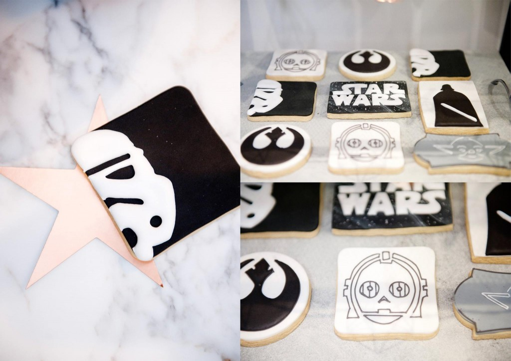 Star Wars cookies - Frosted By Nicci