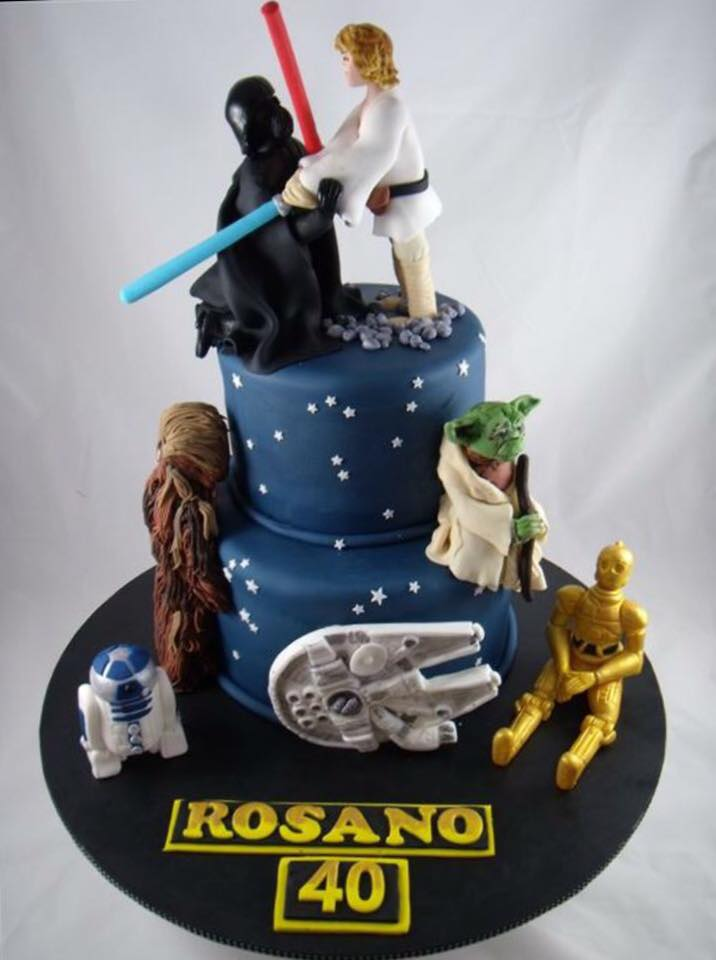 Star wars cake - JK Cake Designs (Sydney)