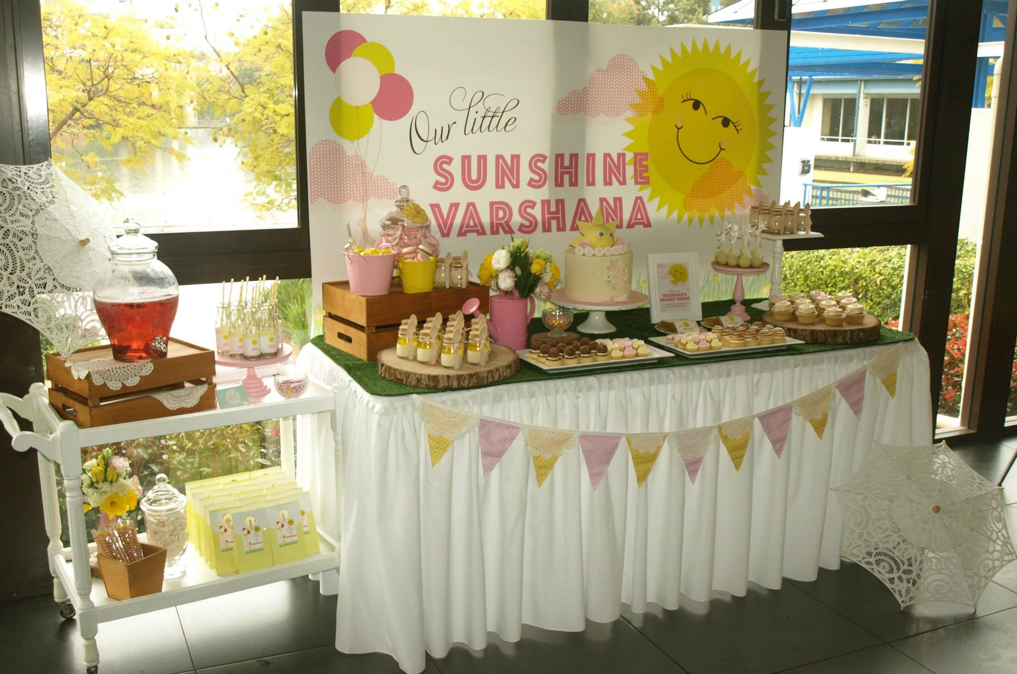 You are my sunshine party - Sweet Coco Events