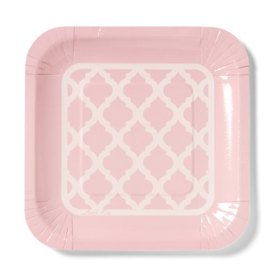 Pattern plate in pink - Little Kite