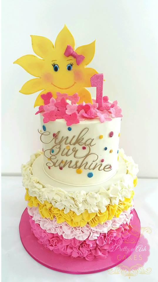 You are my sunshine cake - Pretty n Ash Cakes (Melbourne)