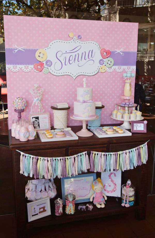 Cake Table Backdrop Stand