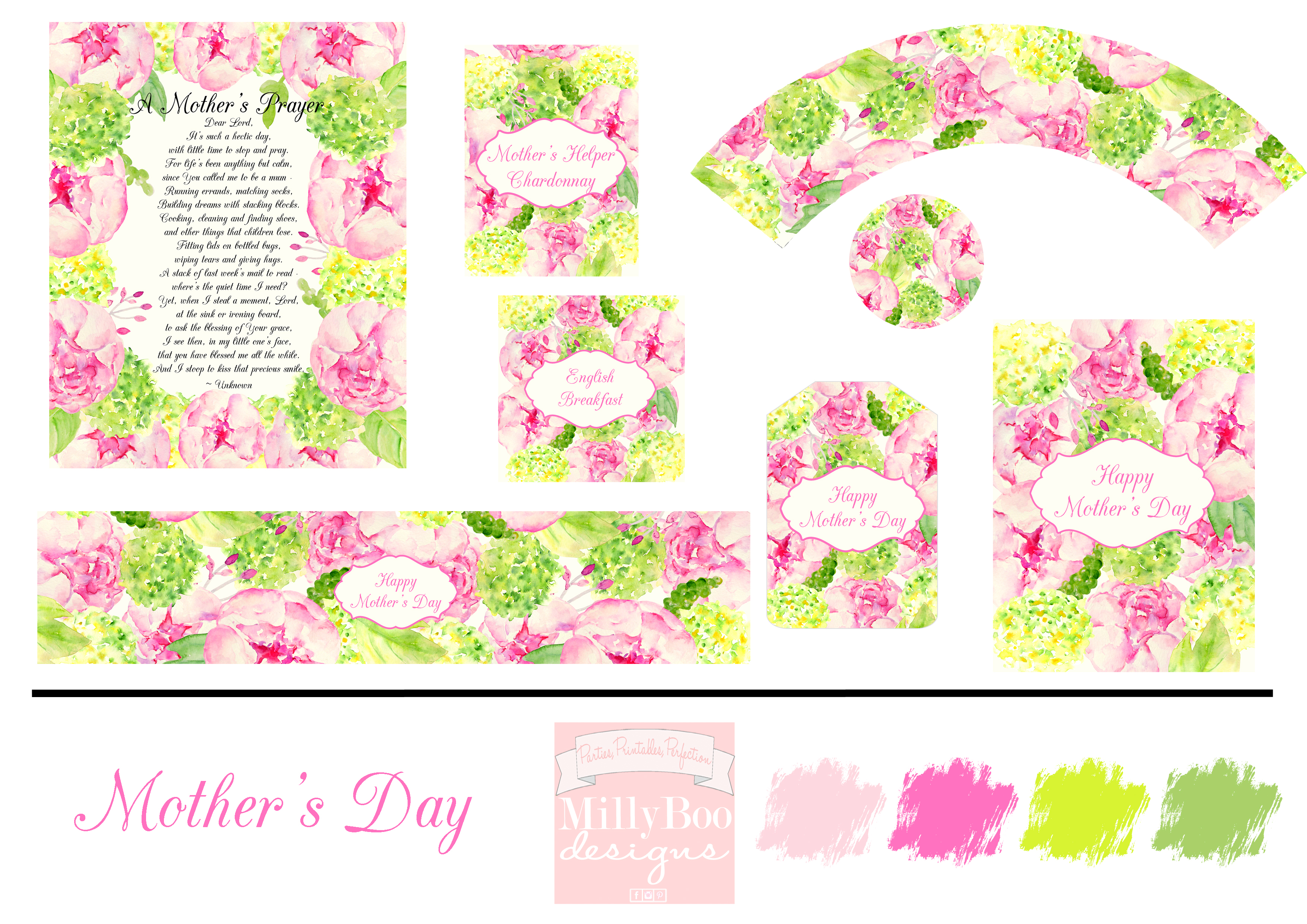 MillyBoo Designs Mother's Day 2