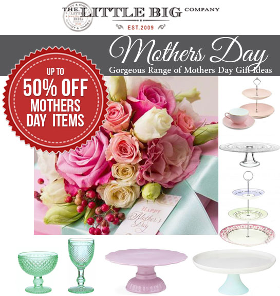 Mother's Day partyware - The Little Big Company