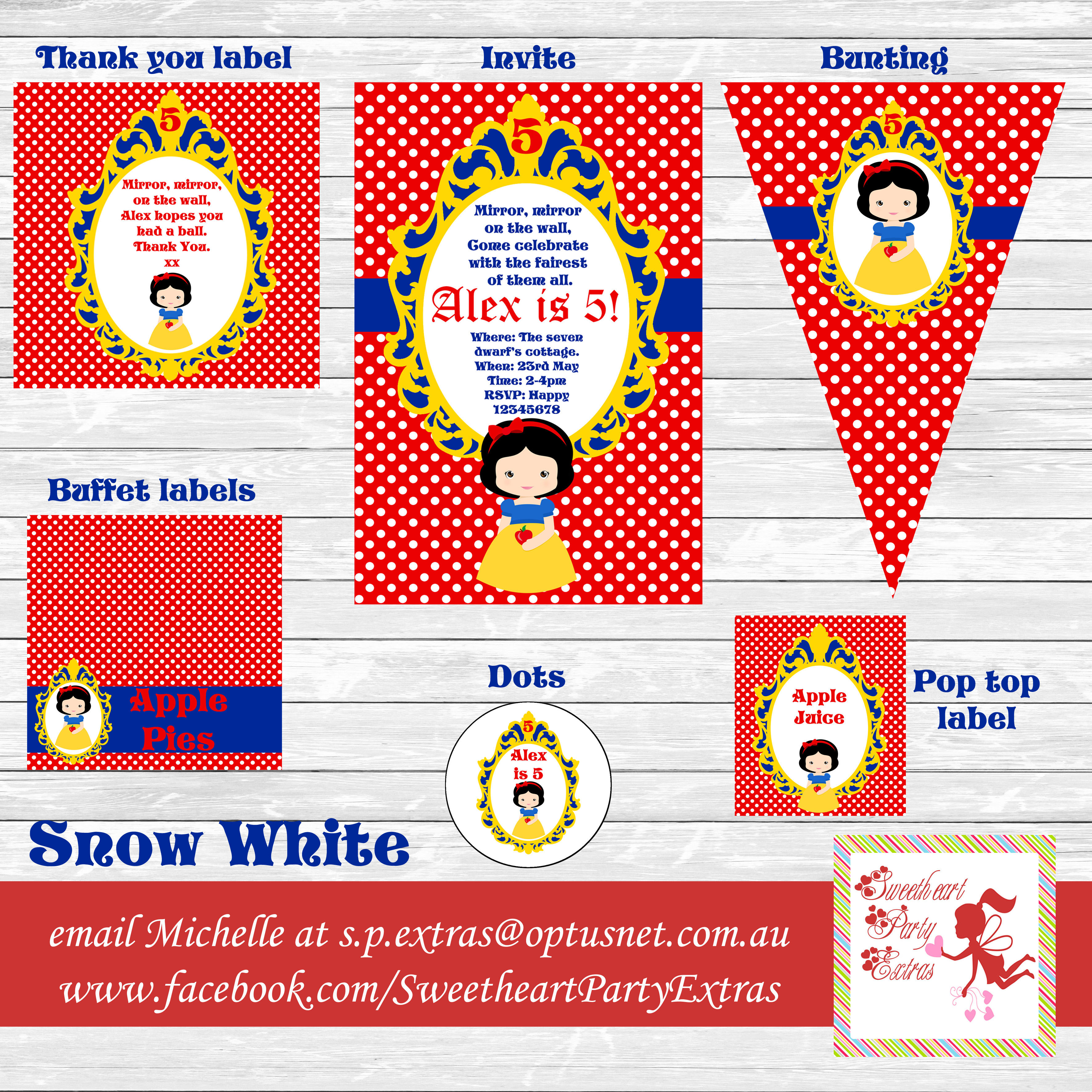 photo about Snow White Invitations Printable identified as Snow White topic Archives - Lifes Minor Get together
