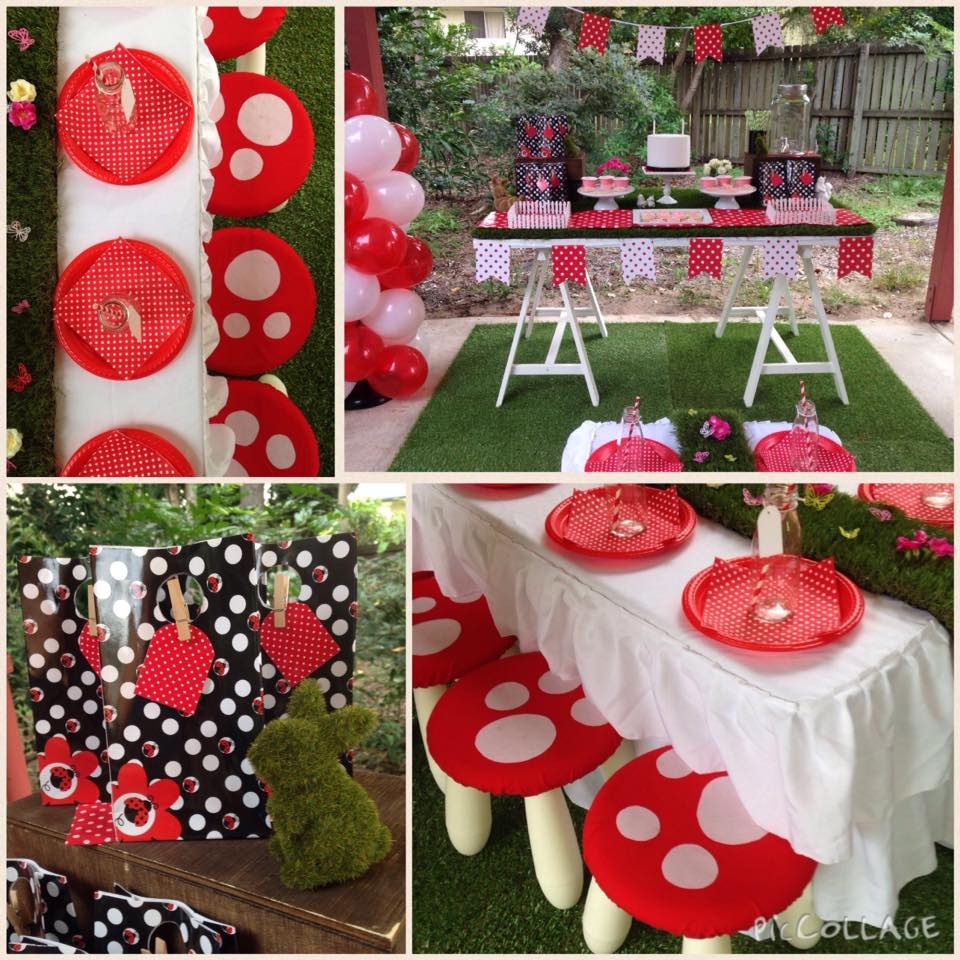 Ladybug party setup - Lovely Occasions and Styled Events (Queensland)