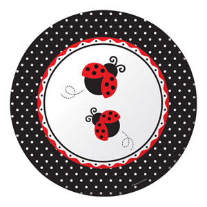 Ladybug plates - Party Splendour