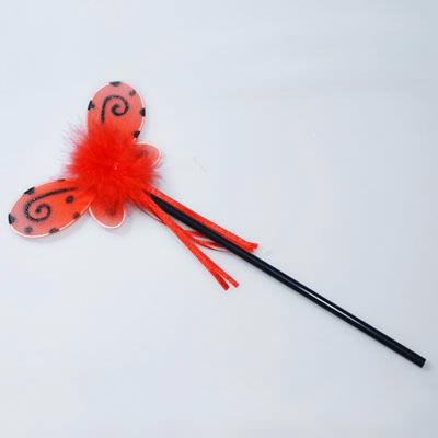 Pink Poppy ladybird wand - Party & Co