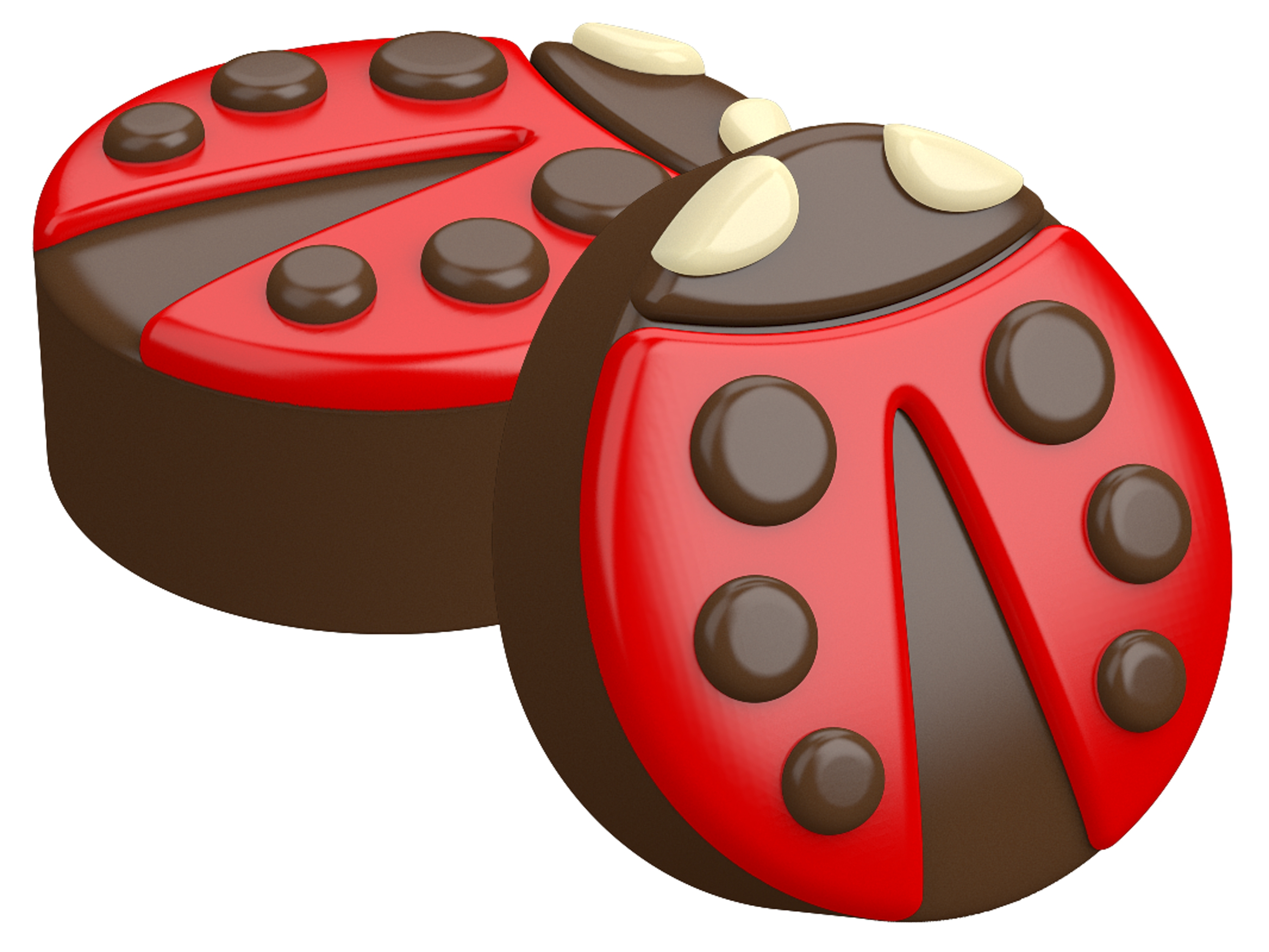 Ladybug chocolate oreo mould - Confectionately Yours