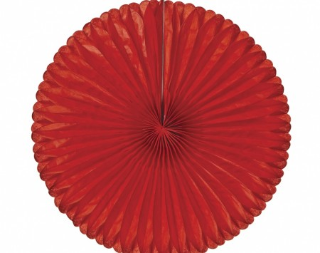 Red paper daisy decoration - Love the Occasion