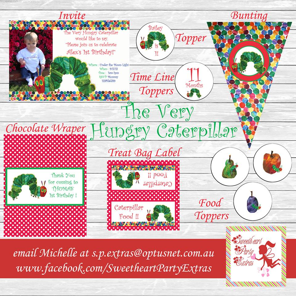 Very Hungry Caterpillar Party Supplies - Lifes Little Celebration