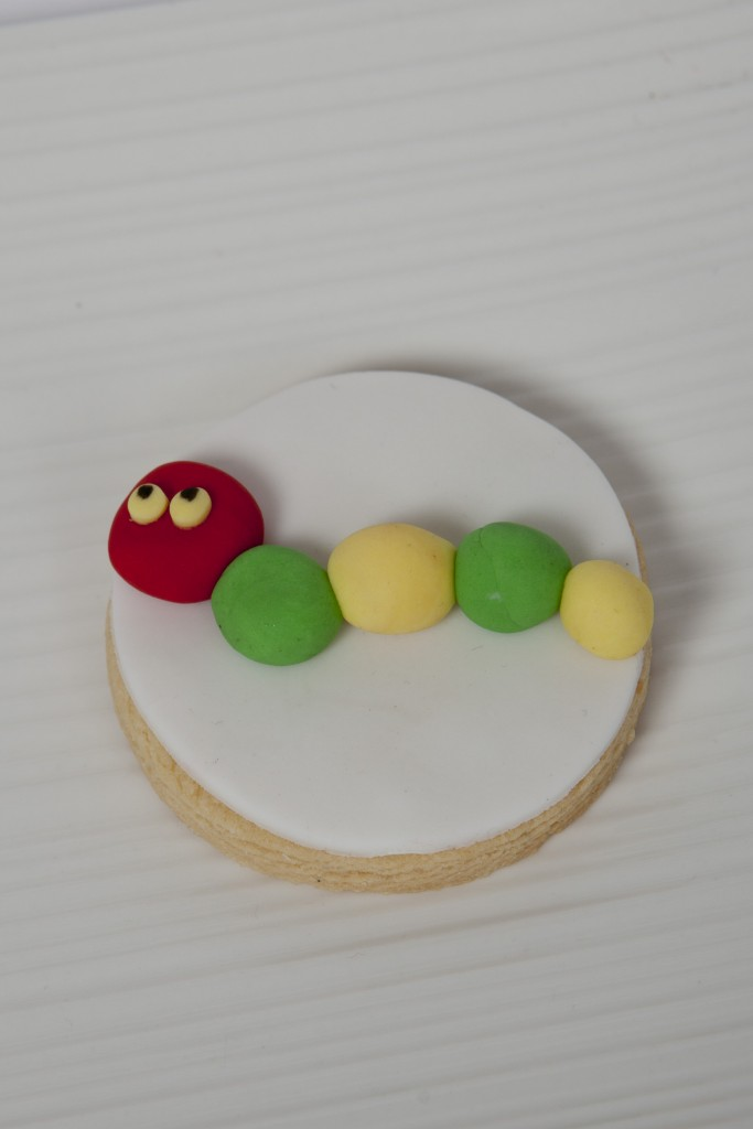 Hungry little caterpillar cookies - One Sweet Chick Couture Cookies and Cakes (Sydney)