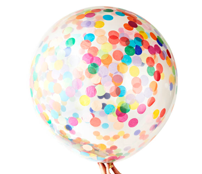 Jumbo confetti balloon - Love the Occasion