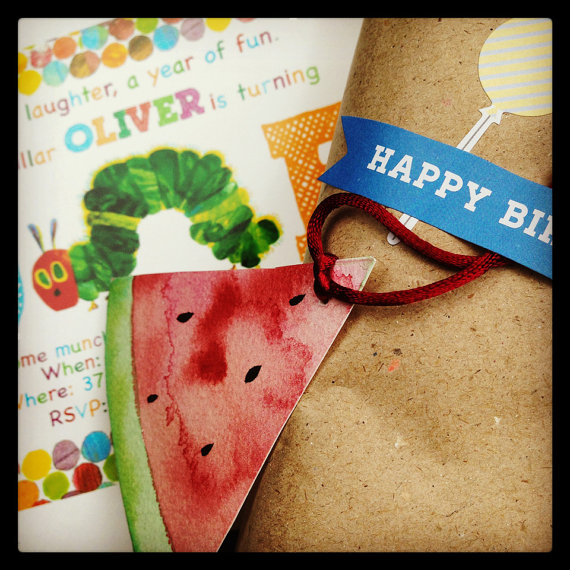 Watermelon gift tags - ELK Prints