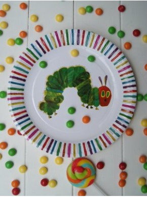 Hungry Caterpillar plate - Just Party Supplies