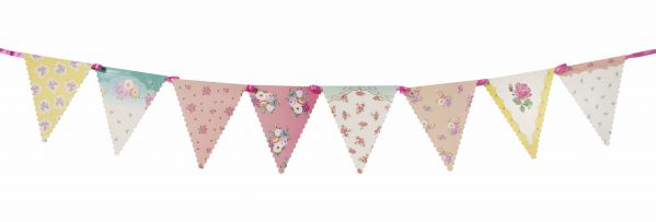 Truly Scrumptious floral bunting - Favor Lane
