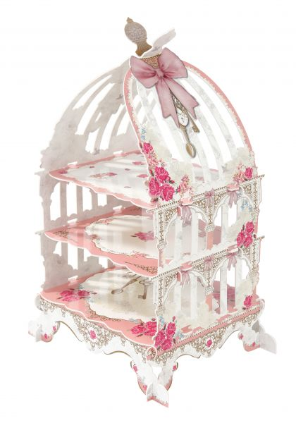 Truly Scrumptious bird cage stand - Favor Lane