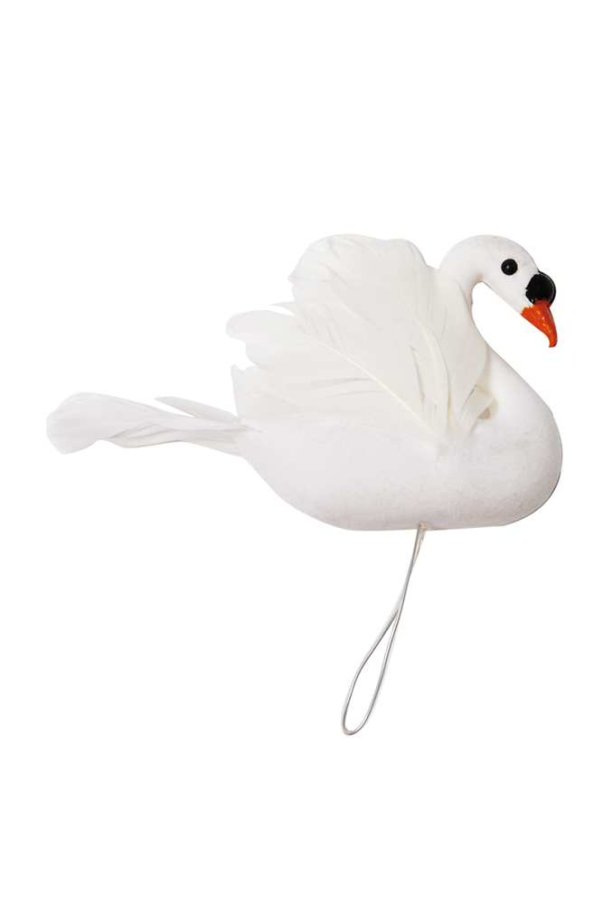 Swan cake topper - Poppies for Grace