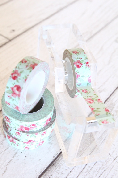 Floral washi tape - Butterfly Kisses Celebrations