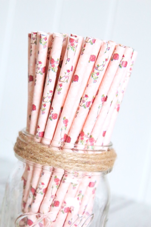 Roses are red straws - Butterfly Kisses Celebrations