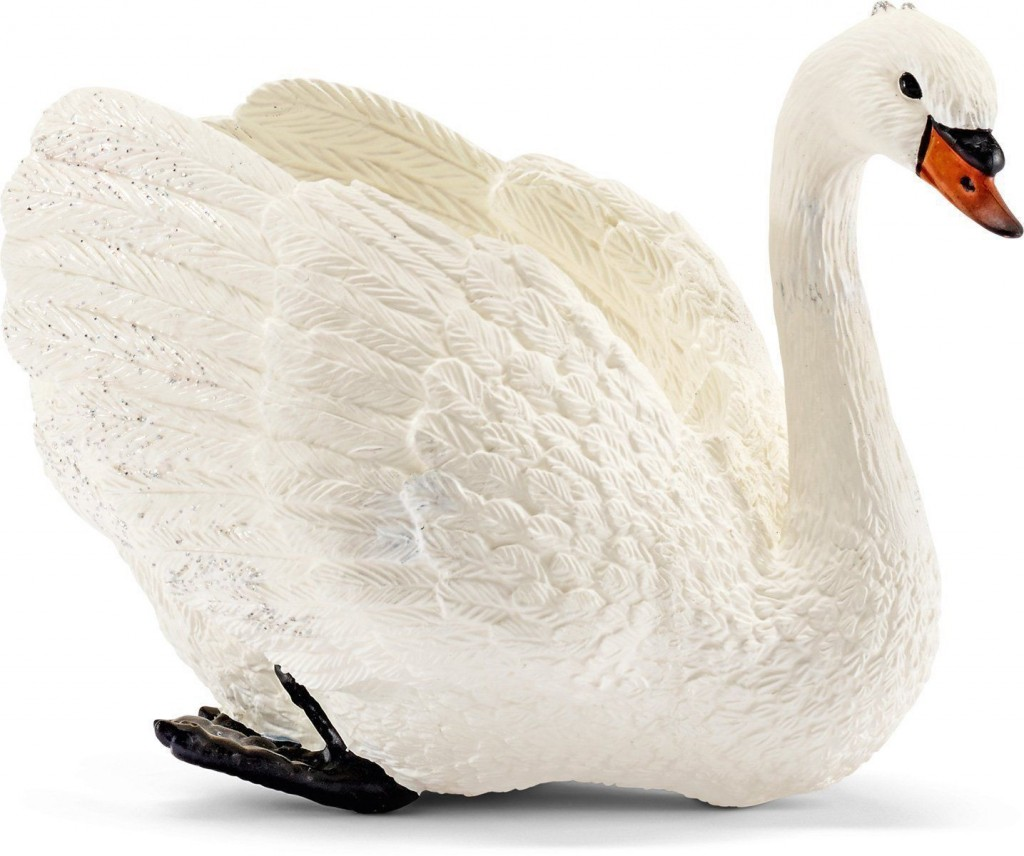 Swan figurine - Toy Galaxy